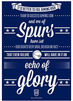 Tottenham Hotspur Bill Nicholson Quote by headfuzzbygrimboid. I need it SOOO badly. Bill Nicholson, Tottenham Hotspur Wallpaper, Winning Quotes, Tottenham Hotspur Football, Soccer Highlights, Spurs Fans, White Hart Lane, Fc Chelsea, Volleyball Quotes