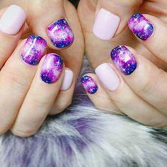 #오로라네일 ✨ #우주네일 ✨⚡️ #notd#nails#nail#gelnail#instanails#nailstagram#nailsvids #galaxynails#갤럭시네일#오로라