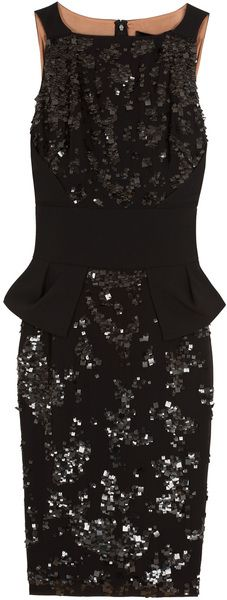 ELIE SAAB Sequin Dress