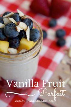 Vanilla Fruit Parfai