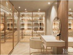 Walk In Closet Design, Bedroom Closet Design, Home Room Design, Closet Designs, Dream Home Design, Home Interior Design, Modern Luxury Bedroom, Luxury Rooms, Luxurious Bedrooms