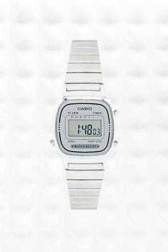 Casio Mini Digital Watch in Silver