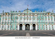 winter's palace-st petersburg russia