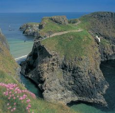 Originally used by local fishermen, Carrick-a-Rede rope bridge has become one of Northern Ireland's most iconic sights.