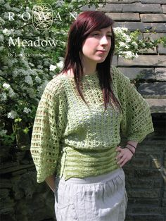 Meadow - Free Rowan crochet pattern:  http://www.knitrowan.com/files/patterns/Meadow.pdf