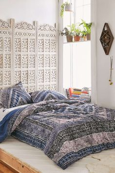 Magical Thinking Omani Worn Carpet Comforter
