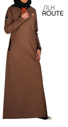 Silk Route Abaya from islamicdesignhouse at the UK. Quality and Modesty that counts.