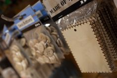 Tarjetas en Madera para Manualidades