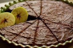 U nás na kopečku: ... jablečný koláč bez tuku ...