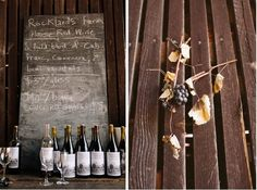 We love the rustic details of this wedding at a historic venue! {Rockland Farm Weddings}