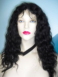 Full Lace Wig 100 Indian Human Hair Remi Remy Wet by BizarreJewels