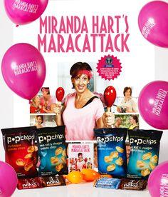 #maracathon party pack Vinegar Chips, Miranda Hart, Bbc Worldwide, Party Packs, Fun Workouts, People, People Illustration, Folk