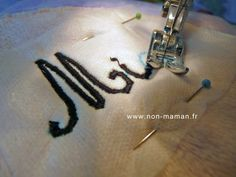 Furniture Tutorial and Ideas Coin Couture, Couture Sewing, Blog Couture, Creation Couture, Sewing Hacks, Sewing Crafts, Sewing Projects, Embroidery Tools, Applique Quilts