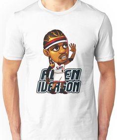 a101ea850e37 Allen Iverson Cartoon Unisex T-Shirt Allen Iverson