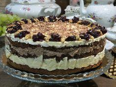 Domowe ciasta i obiady: Tort Orzechowy Milky Way Tiramisu, Food And Drink, Sweets, Baking, Cake, Ethnic Recipes, Blog, Pies, Treats