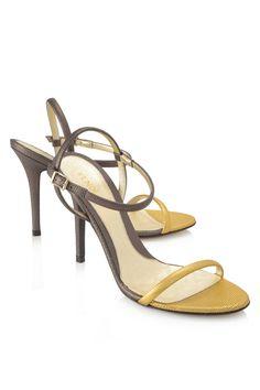 Fendi Mix Mignon Vitello St Liz Sandals