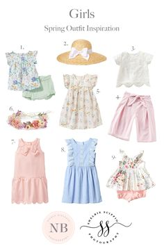 Children's Spring Outfit Inspiration - Nicole Bielenin Photography (scheduled via http://www.tailwindapp.com?utm_source=pinterest&utm_medium=twpin)