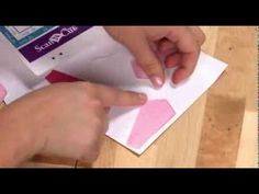 ▶ Brother™ ScanNCut Tutorial: Combining Paper-Crafting with Sewing - YouTube