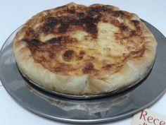 Pasta de full amb codony i formatge
