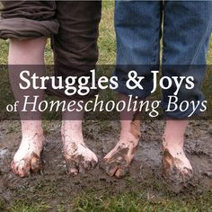 They can't sit still, they track dirt in the house, hate to write and don't seem to hear a word you say.If the thought of homeschooling your rowdy boys strikes fear in your homeschool mama heart – this is for you! Homeschool Blogs, Homeschool High School, Homeschool Graduation Ideas, Speech And Debate, Raising Boys, Field Trips, Home Schooling, Scouting, Geology