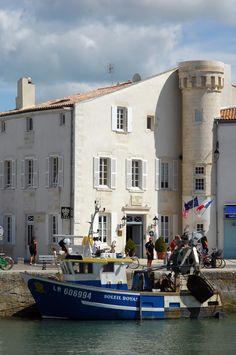 L'ancienne Maison de La Nacre, Saint Martin de Ré.c.b.