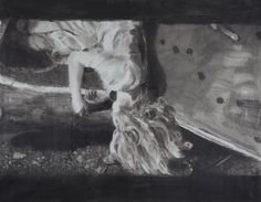 Bonnie IV, 2014, encre sur papier, 140 x 193 cm Katharina Ziemke