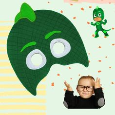 Gekko is a cool character )) Green-eyed boy, the youngest in the team of children superheroes. But his skill is impressive – the ability to… Pj Mask, Green Eyes, Masks, Kids Rugs, Cool Stuff, Children, Boys, Character, Instagram