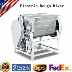 1500W Commercial Dough Food Mixer 2 Speed Pizza Bakery Flour Mixing Processor · $701.02 Pizza Dough Mixer, Flour Bakery, Commercial, Food, Essen, Meals, Yemek, Eten