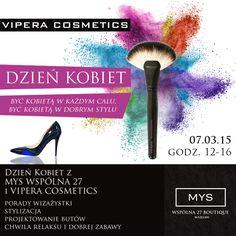 Być kobietą, być kobietą... Niepowtarzalne wydarzenie w boutique MYS Wspólna. Dzień Kobiet - relax, wizaż, stylizacja, i projektowanie własnych butów :). Czego chcieć więcej :).