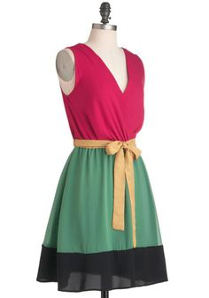 Surprise Balloon Ride Dress, #ModCloth