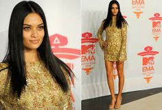 Best 2013 MTV EMA Celebrity Dresses