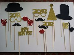 Happy New Year - Party Props!!! So much fun and will way outlast the new year!