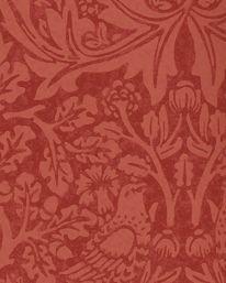 Tapet Brer Rabbit Church Red från William Morris & Co