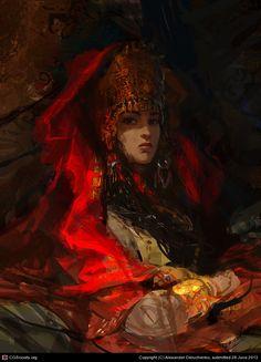 Queen by Alexander Deruchenko | 2D | CGSociety