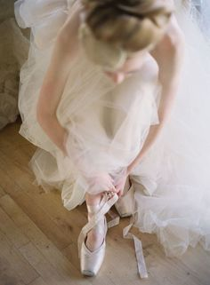 she might still have her girlhood dream of becoming a ballerina.