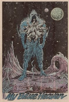"""Full page panel in """"Swamp Thing"""" issue no. 56, written by Alan Moore, illustrated by Rick Veitch, 1987"""