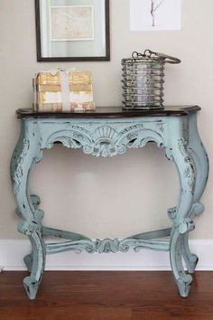 "Did you know, we carry Annie Sloan Chalk Paint Need some ideas? Check out these gorgeous photos of furniture painted with Annie Sloan Chalk Paint [gallery type=""square"" Decor, Shabby Chic, Redo Furniture, Painted Furniture, Hall Table, Chalk Paint Furniture, Paint Furniture, Furniture Inspiration, Furniture Makeover"