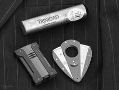 2015 Trinidad Vigia Tubos, Habana, Cuba        ST Dupont Defi Extreme                                Xikar Cutter                                                Brooks Brothers