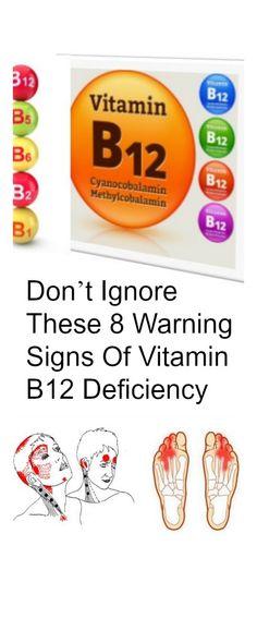 8 signs of vitamin b deficiency
