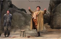 "John Goodman & Nathan Lane in ""Waiting for Godot,"" Studio 54"