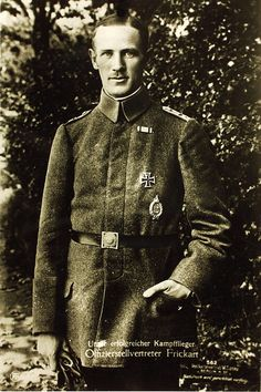 Leutnant Wilhelm Frickart was a World War I flying ace credited with twelve aerial victories. He is the only known German observer to become an ace balloon buster.