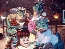 """I'm da baby. Gotta love me!"". I love The Dinosaurs when I was little. I wish they played reruns."