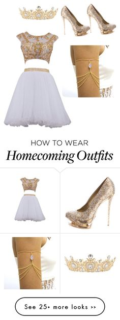 "Love those shoes! ""homecoming"" by destinygotem on Polyvore featuring мода и Gianmarco Lorenzi"