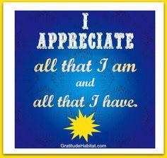 I appreciate all.