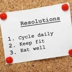 Tips to Create Cycling Goals and Resolutions Cycle To Work, Keep Fit, Road Cycling, For Your Health, Tis The Season, Eating Well, Infographic, Goals, Cyclists