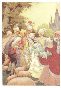 The Swineherd; by Rudolf Koivu