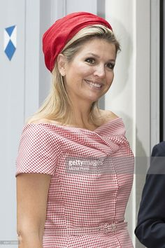 Queen Maxima of The Netherlands attends World MS Day activities on May 28, 2014 in Voorschoten, Netherlands.