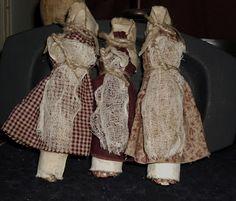 corn cob dolls