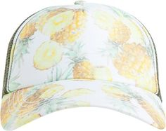 Pineapple trucker hat. http://www.swell.com/New-Arrivals-Womens/BILLABONG-SURFIN-DREAMZ-TRUCKER-HAT-2?cs=OF