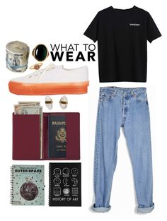 """""""Untitled #17"""" by bunnie18 on Polyvore featuring Better Late Than Never, Topshop, Rock 'N Rose, Levi's, Royce Leather and Megan Thorne"""